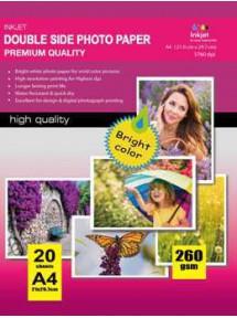297X210MM A4 High Glossy Inkjet Photo Paper 180g-20 Fogli