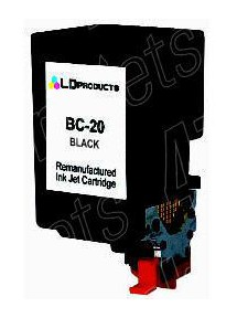 38ML Rigenerata Canon BJC 2000/2010/4000- Nera  BC-20 BX-20
